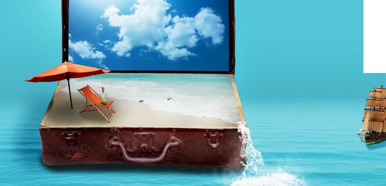 物より経験で幸福度が増す、幸福度を上げる旅の経験のイメージ画像